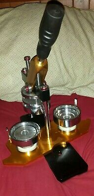 58mm Badge maker machine used. gold and black. Great condition. Negotiable price