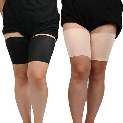 1 Pair Women Thigh Bands Anti Chafing Leg Band Non-skid Running Legs Protection