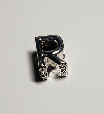 New Authentic Pandora charm 2018 PANDORA LETTER R CHARM 797472