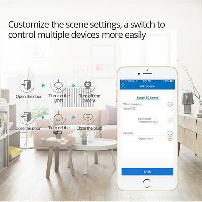 Practical Sonoff 4CH R2 Multi-channel WIFI Home Smart Switch Mini Remote Control