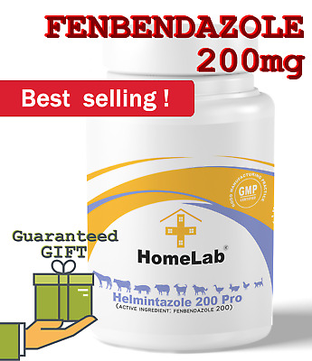 Fenbendazole 20% Dewormer Helmintazole Powder Panacur Safe Guard Fendeworm