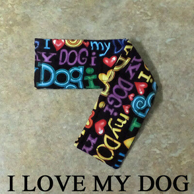 "COTTON Belly Bands for Male Boy Dog Waist 8-10"" XS MULTIPLE FABRICS for Charity"