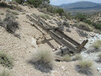 Gold Mine Nevada Mining Claim Famous Palmetto District Lode Open Pit Shaft