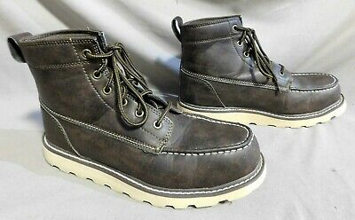 2377db3cc27 TIMBERLAND PRO STOCKDALE Toe Mens Black Alloy Toe Leather Work Boots ...
