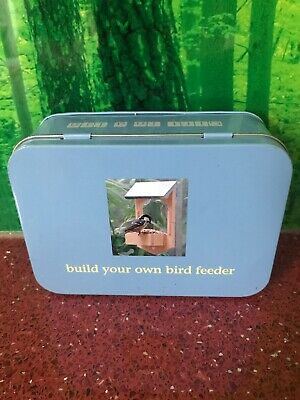 Build Your Own Bird Feeder - Gift in a Tin - Apple to Pears - Unused