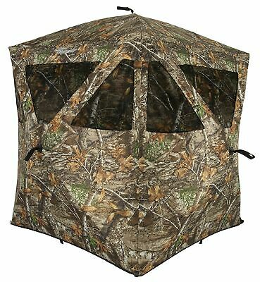 Ameristep Care Taker Ground Blind Hubstyle Blind in Realtree Edge