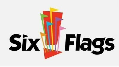 Six Flags Theme Park 1 Day Admission Ticket FREE SHIPPING