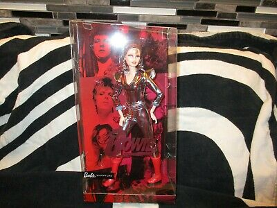 BNIB/NRFB Barbie David BowieGold Label Ziggy Stardust IN HAND