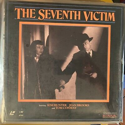 """The Seventh Victim - 12"""" Laserdisc Buy 6 for free shipping"""