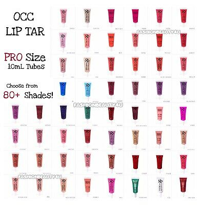 Obsessive Compulsive Cosmetics OCC Lip Tar PRO SIZE Tubes 10ml ☆ Choose Color
