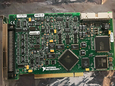USED NI PCI-6071E National Instruments Multifunction DAQ Card