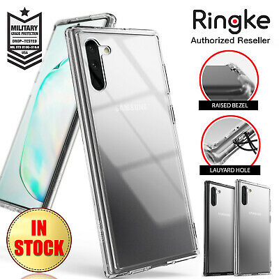 Samsung Galaxy Note 10 Plus 5G Case RINGKE FUSION Protective Crystal Clear Cover
