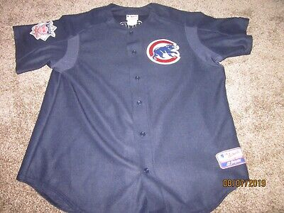 Kerry Wood Chicago Cubs Majestic Authentic Collection Jersey Adult XL