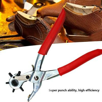 Universal Leather Strap Watch Band Belt Hand Tool Hole 2-4.5mm Punch Pliers