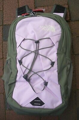 THE NORTH FACE  WOMENS JESTER BACKPACK- LAPTOP SLEEVE-A3KV8- Orchid / Clover