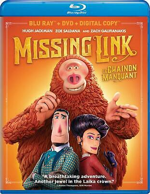 Missing Link (Blu-ray/DVD, 2019, Canadian)