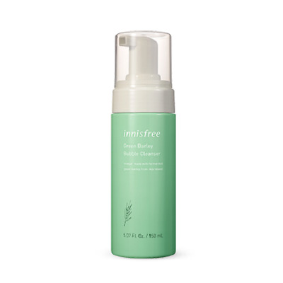 Innisfree Green Barley Bubble Cleanser 150ml Free shipping