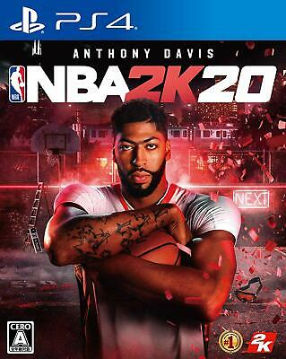 USED PS4 NBA 2K20 JAPAN Sony PlayStation 4 import Japanese game  #N