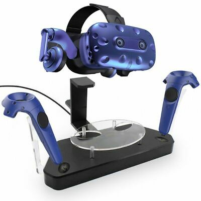 Wireless Helmet Handle Dual Charging Stand Holder Charger for HTC Pro VIVE/VIVE