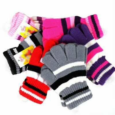 New Gloves Knit Stretchy Men Women Winter Plain Solid Casual Plain Warmer #16469