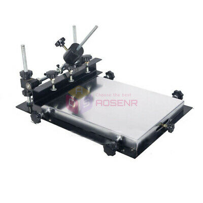 440x320mm Manual Solder Paste Printer PCB SMT Stencil Printer T-shirt Printing