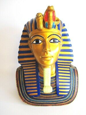 Does Ench Amun Bust Death Mask Egypt 30 cm Poly Figurine Egypt