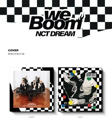 eldo NCT Dream-[We Boom]3rd Mini Album Kihno Muz-Kit,Poster,F Photo,Card etc