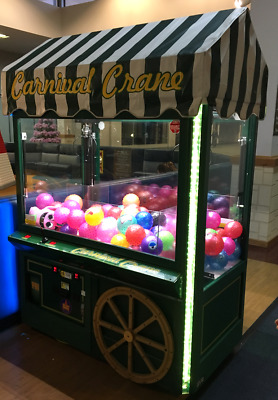 Carnival Crane claw machine from ICE