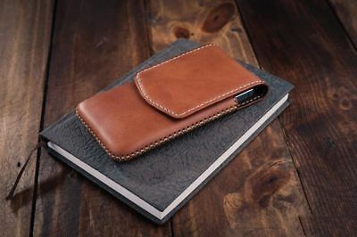 Genuine Cow Leather Skin Pouch Case Cover For Samsung Galaxy Note 10 /Note 10+