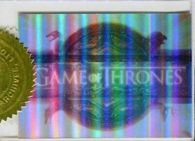 Game of Thrones Season 1 Foil Case Topper Chase Card T1 #095/900