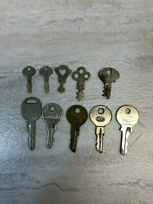 Mixed Lot of 10 Vintage Keys – GM General Motors, Ludell, ILCO, Chicago Lock ...