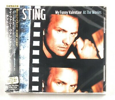 Sting My Funny Valentine: Sting at the Movies New CD Japan Import Ships From USA