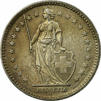 [#693161] Coin, Switzerland, 2 Francs, 1957, Bern, EF(40-45), Silver, KM:21
