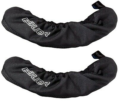 Bauer Hockey / Figure Ice Skate Blade Jacket Covers / Soakers, BLACK, S-L