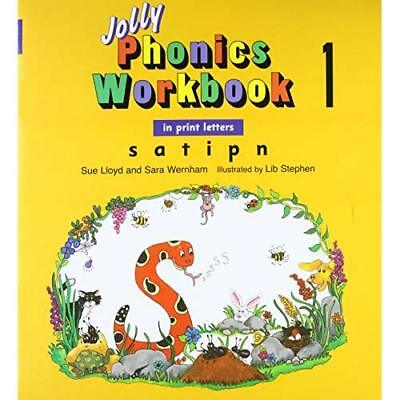 Jolly Phonics Workbook 1 - Paperback NEW Sue Lloyd 2008-01-31