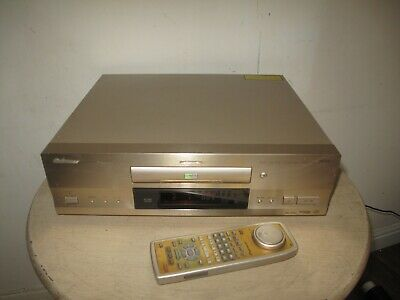 Pioneer DV-717 MULTIREGION Black High End CD and DVD Player With Remote