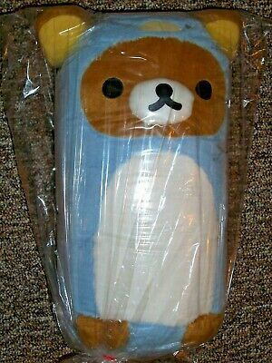 "NWT Rilakkuma 20"" Penguin Costume Everyday Shimashima Bear Stuffed Plush Toreba!"