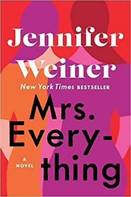 Mrs. Everything: A Novel By Jennifer Weiner (E-BooK,PDF,2019) ⚡ Fast Delivery ⚡