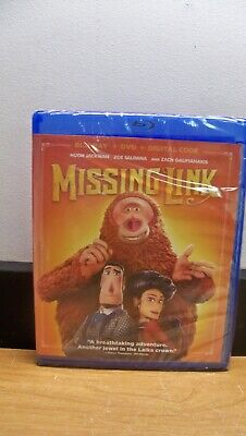 New No Slip Cover Missing Link Blu Ray Dvd Digital Hd Free 1St Cls S&H