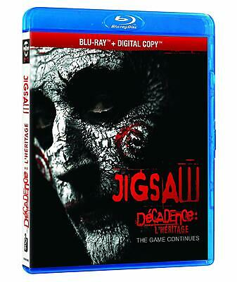 Jigsaw (Blu-ray Disc, 2018, Canadian) No Hd copy