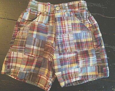 EUC The Children's Place Size 24 months Plaid Shorts