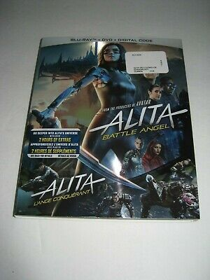 Alita-Battle Angel  (Blu Ray slip cover only) No Disc No Blu Ray