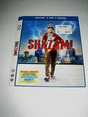 Shazam! (Blu Ray Lenticular cover only) No Disc No Blu Ray