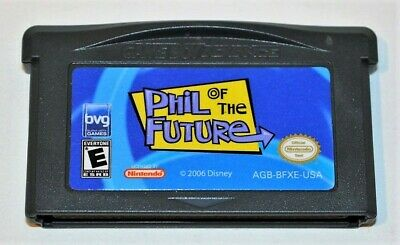 Phil Of The Future Nintendo Gameboy Advance Sp Gba Game