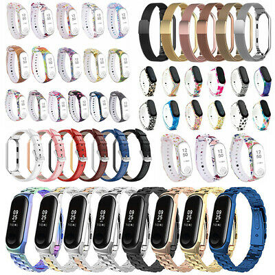 Various Bracelet Strap Wristband Wrist Band Replacement For Xiaomi Mi Band 3 4
