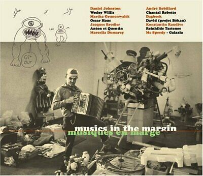 Musics In The Margin - Various Artists CD MOVG The Cheap Fast Free Post The