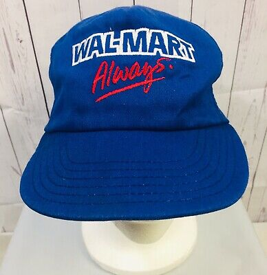 e356cf748 WAL-MART ALWAYS SNAPBACK Cap Hat Made In USA Vtg 90's