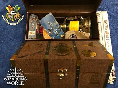 Harry Potter Loot Gear Wizard Crate, Plush, Wand, Hogwarts, Gringotts, 15+ ITEMS
