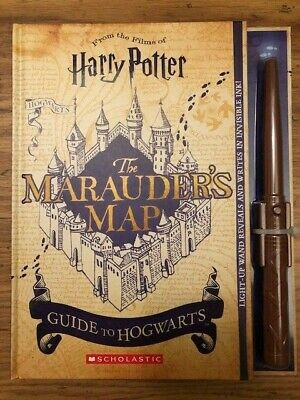 Harry Potter The Marauder's Map Guide to Hogwarts, Wizarding World, Scholastic
