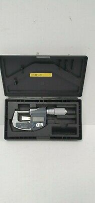 "Mitutoyo Digital Micrometer 0-1"" 0-25mm"